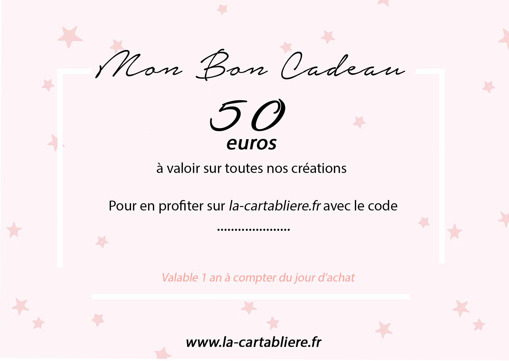 Mon Bon Cadeau - 50 €