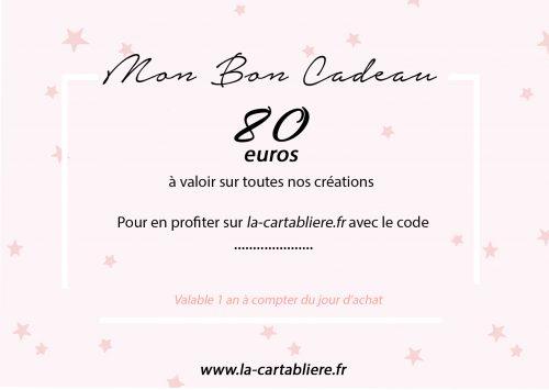 Mon Bon Cadeau - 80 €