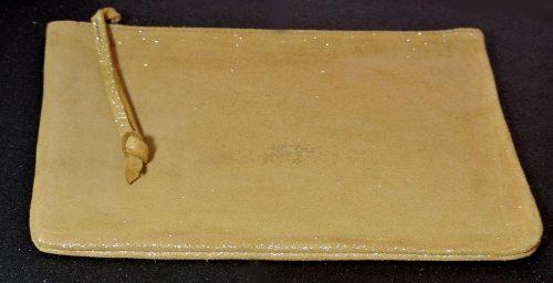 Midi dragonniere en cuir pailleté, pochette en cuir de taille moyenne, en cuir, en cuir pailleté, made in france, la Cartablière