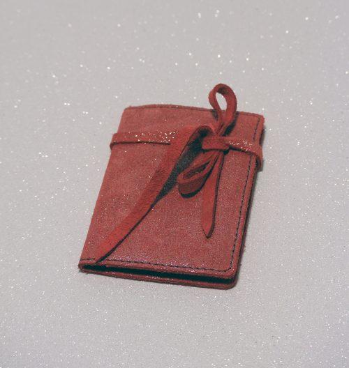 Simple Fidélité en cuir, étui pour ranger ses cartes de fidélités, en cuir, en cuir pailleté, made in france, la cartabliere