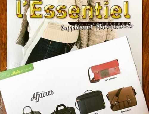 Une nouvelle apparition presse dans le magazine L'Essentiel !