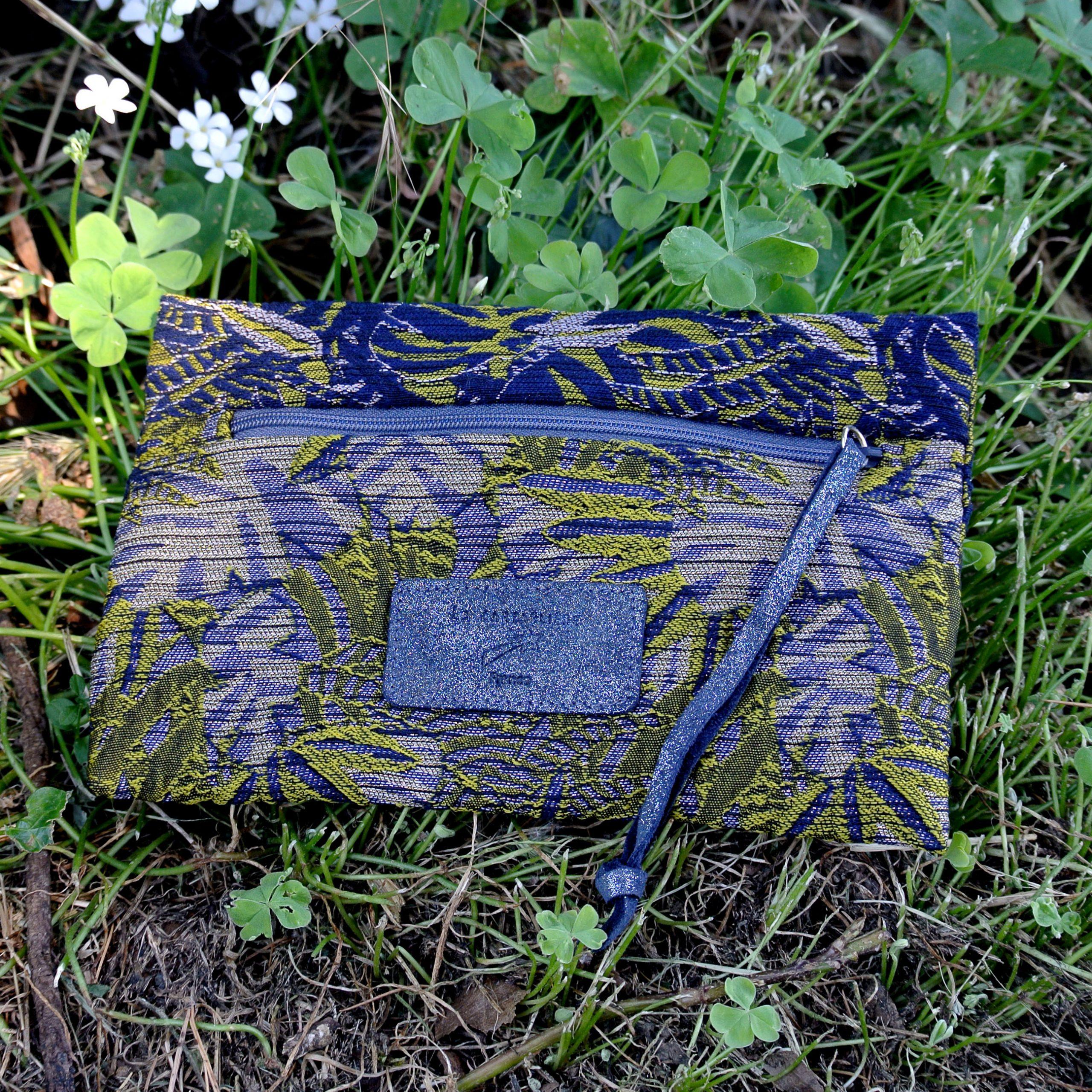 mini dragonnières bleu ardoise