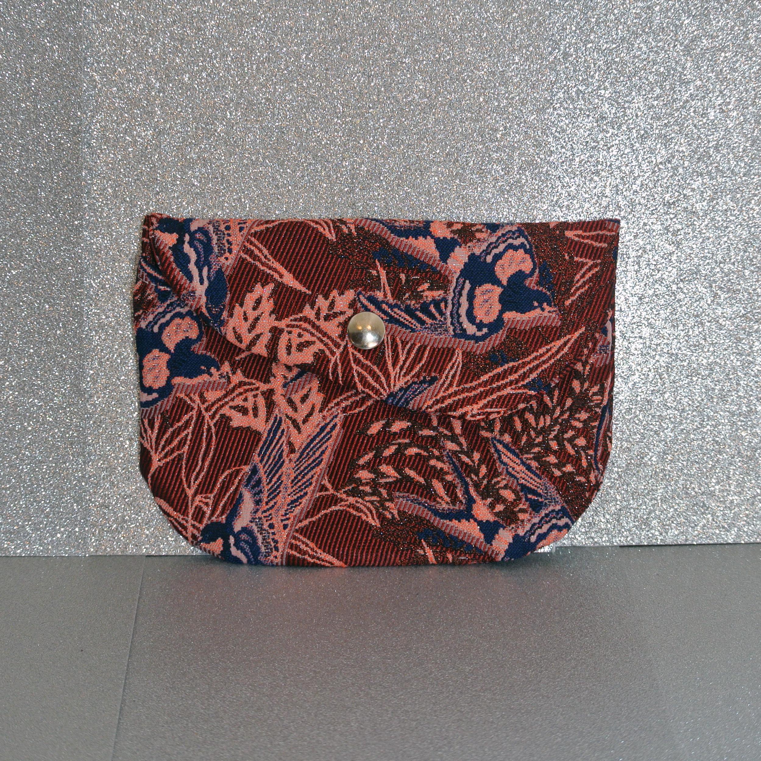 pochette pluton en jacquard, made in france, la cartabliere