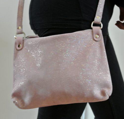 sac-comète-cuirs-fantaisies-la-cartabliere-fabrique-en-france-en-cuir-paillete-rose-quartz