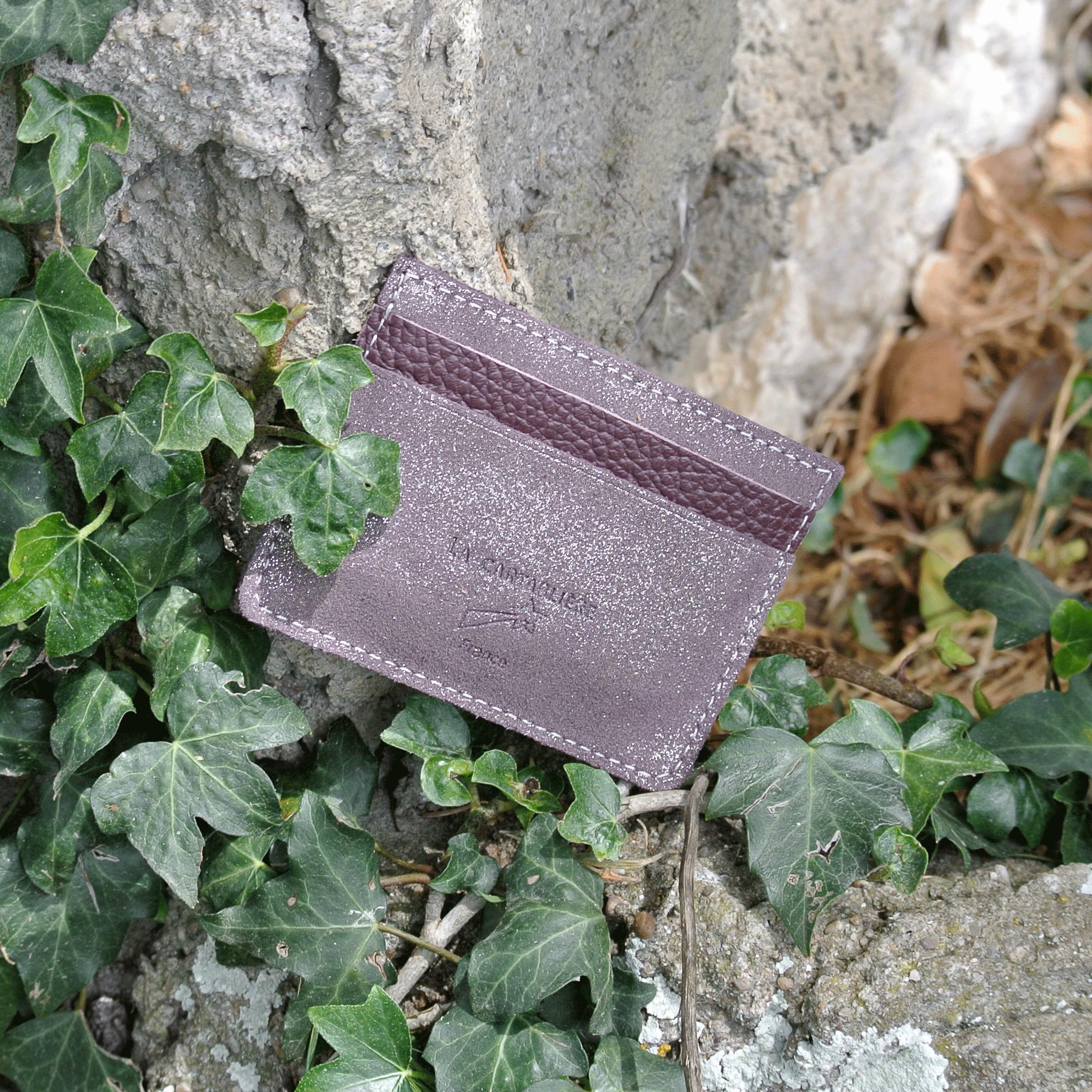 cuirs-pailletés-cuirs-fantaisies-fabriqué-en-france-la-cartabliere-etui-carte-triple-cuir-paillete-bourgogne-argente