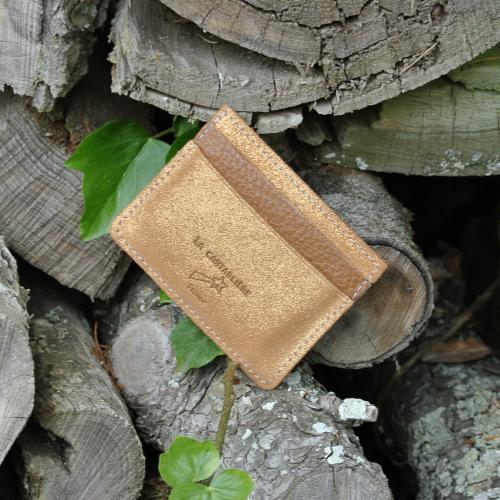 cuirs-pailletés-cuirs-fantaisies-fabriqué-en-france-la-cartabliere-etui-carte-triple-cuir-paillete-caramel-dore