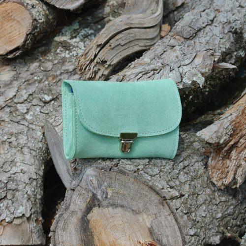 portefeuille-royale-en-cuir-paillete-vert-amande