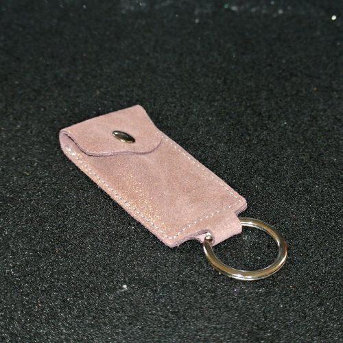 porte-clés usb en cuir pailleté